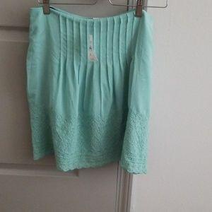 NWT Loft mini skirt